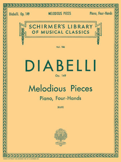 Diabelli - 28 Melodious Pieces On 5 Notes Op. 149 Four Hands