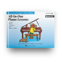 All-In-One Piano Lessons Book B - HL-00298087 - comprar online