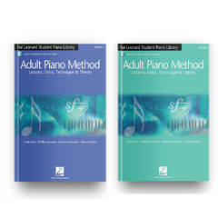 Kit - Adult Piano Method Book 1 e 2
