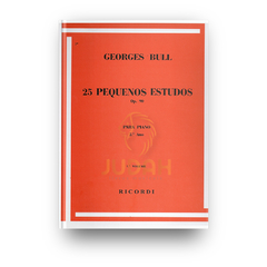 Georges Bull - 25 Pequenos Estudos Op. 90 Vol. 1 - RB-0064