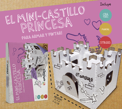 MINI CASTILLO DE PRINCIPES Y PRINCESAS