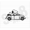 Snoopy Fusca