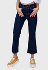 Jean Denim Capri Oxford I