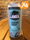 Landel LAB - Surfing Doggy West Coast IPA - 4 PACK