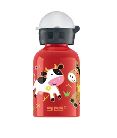 Garrafa sigg kids 300ML FARMYARD RED