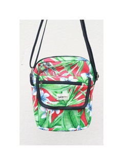 Shoulder bag impermeável floral