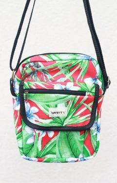 Shoulder bag impermeável floral - comprar online