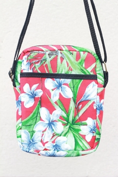 Shoulder bag impermeável floral na internet