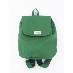 Mochila com bolso antifurto verde - I wanna be your toy bolsas, mochilas e pochetes