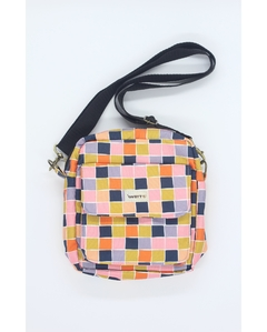 Shoulder bag com forro impermeável