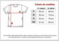 Camiseta Masculina Básica Manga Curta Red Hot Chili Peppers - comprar online