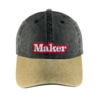 Gorra Maker denim beige