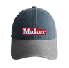 Gorra Maker denim