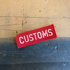 Parche CUSTOMS