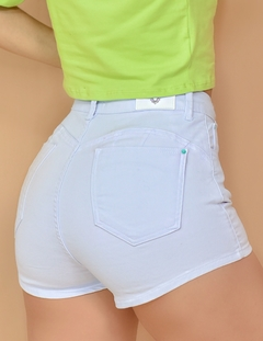 SHORT HOT PANTS COLLOR BRANCO - comprar online