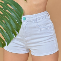 SHORT HOT PANTS COLLOR BRANCO