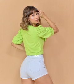 SHORT HOT PANTS COLLOR BRANCO - TRAP ZAP