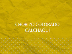 Chorizo Colorado Calchaqui 200gr