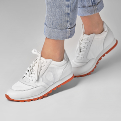 JOGGING S4 - White & Orange - comprar online