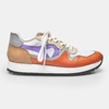 JOGGING DIAMOND - Orange, Lilas e Branco