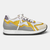 JOGGING WAVES - Yellow, Silver & Lilas