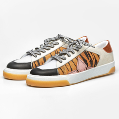 Tênis Diamond Star - Preto, Animal Print, Off White & Laranja - comprar online