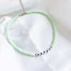 Chocker letras personalizável/HAPPY