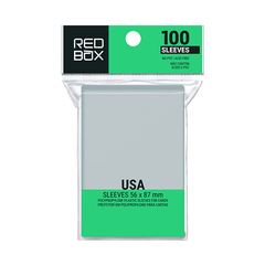Sleeve Redbox: USA  56x87mm