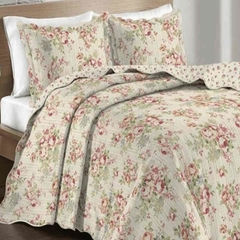 Colcha King Evoluition PatchWork Camesa