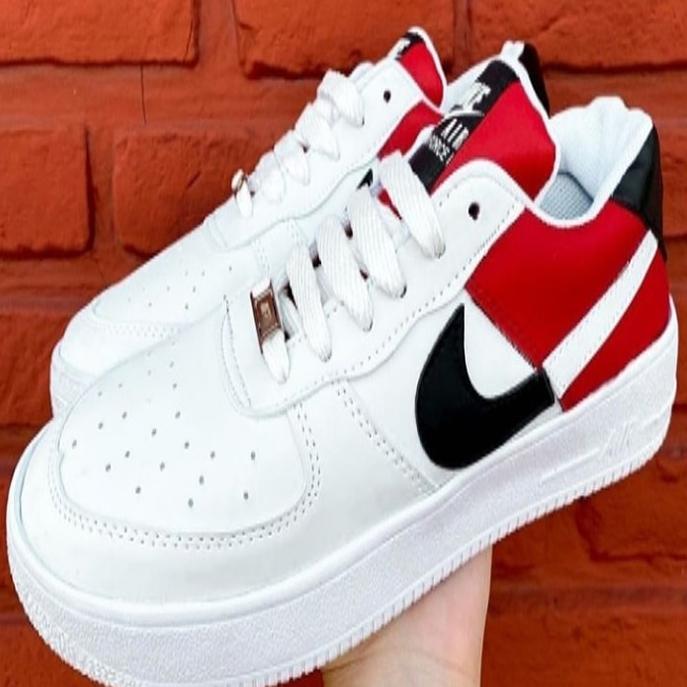 air force 1 rojas y blancas