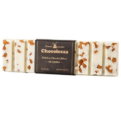 Tableta de chocolate blanco con almendras x 200 grs