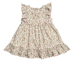 VESTIDO COTTON MINI FLORES