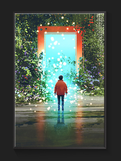 Quadro Parallel World Entrance 2 - Artground