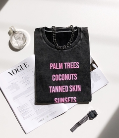 T-shirt Palm Strees