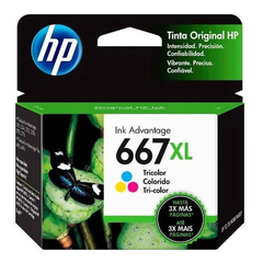 HP 667 Tricolor XL original 3YM80AL