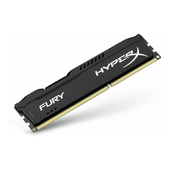 Memoria Ram 8Gb DDR3 Kingston HyperX Fury 1600mhz Negra HX316C10FB/8 - comprar online