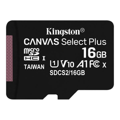 Micro sd 16gb clase 10 Kingston Canvas Select Plus 100mb/s