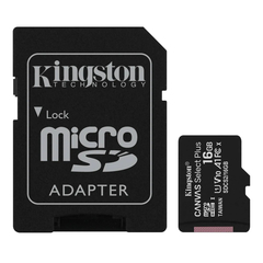 Micro sd 16gb clase 10 Kingston Canvas Select Plus 100mb/s - comprar online