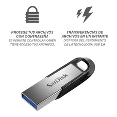 Pendrive Sandisk Ultra Flair en internet