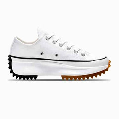 Converse Run Star Hike Low OX Tênis All Star Branco Plataforma Tratorada