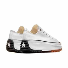 Converse Run Star Hike Low OX Tênis All Star Branco Plataforma Tratorada - comprar online