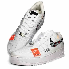 Tenis Nike Air Force One Fow Utility Cano Baixo Branco Just Feminino na internet