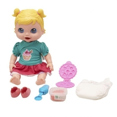 Boneca Baby Collection Comidinhas SuperToys