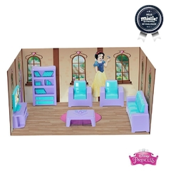Kit Princesas Mini Sala das Princesas Disney - 6 Pçs - Mielle