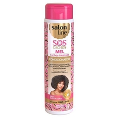 CONDICIONADOR SALON LINE SOS 300 ML CACHOS INTENSO MEL
