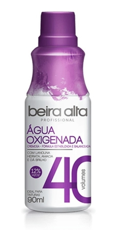 AGUA OXIGENADA BEIRA ALTA CR 90 ML 40 VOL