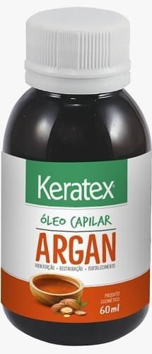 OLEO CAPILAR KERATEX 60ML ARGAN