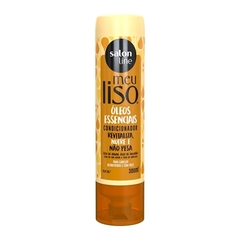 CONDICIONADOR SALON LINE MEU LISO 300 ML OLEOS ESSENCIAIS
