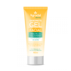 SABONETE GEL FACIAL AGRADAL DERMA 150ML