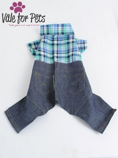 4 PATAS JEAN'S CON CAMISA - Vale For Pets